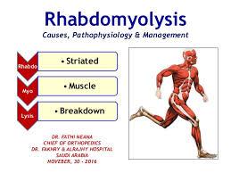 PCCN Rhabdomyolysis